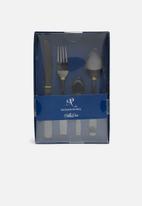 Nicolson Russell - Bella Casa black matte 4 piece cutlery set
