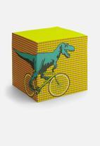Mustard  - T-rex memo block