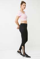 South Beach  - Cut out stirrup legging