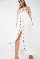 dailyfriday - Embroidered maxi dress