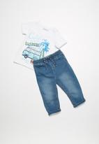 Babaluno - Cali t-shirt and jeans set