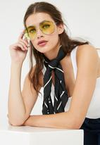 dailyfriday - Avaitor metallic mirrored sunglasses