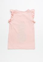 dailyfriday - Frill sleeve vest