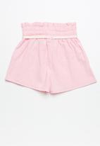 dailyfriday - Smocked waist shorts