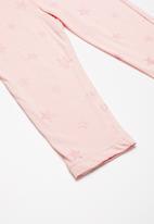dailyfriday - Capri leggings - pink