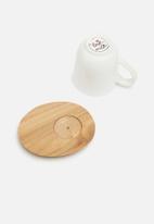 Love Milo - Serendipity mug with saucer
