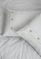 Sixth Floor - Button edge duvet cover set