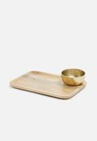 Sixth Floor - Dolma tray and bowl