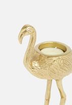 Sixth Floor - Flamingo tea light holder