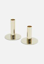 Sixth Floor - Levi candle holders set of 2