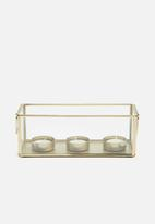 Sixth Floor - Reya glass tealight holder