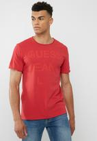 GUESS - Basic play logo crew tee