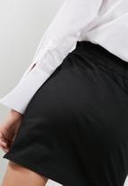 dailyfriday - High waisted paper bag mini skirt