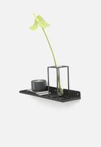 Sixth Floor - Dimitri shelf with glass - Small