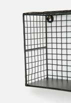 Sixth Floor - Ellaria iron wall shelves set of 3