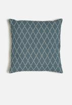 Sixth Floor - Eren cushion cover - blue