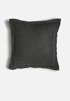 Sixth Floor - Ute cushion cover - charcoal