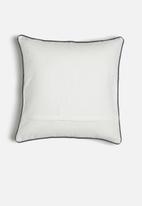 Sixth Floor - Aleut cushion cover - grey