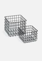 Sixth Floor - Pomona basket set of 2