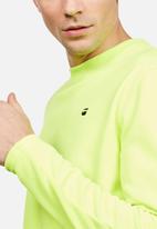 G-Star RAW - Carnix Slim L/S - Neon Green