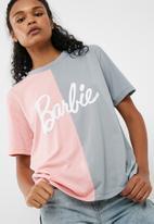 Missguided - Barbie x Missguided spliced 'barbie' tee