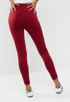 Missguided - Zip thru leggings