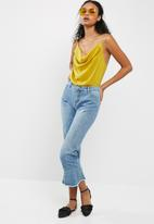 Missguided - Satin strappy cowl bodysuit