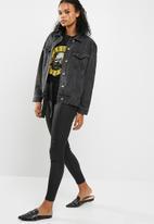 Missguided - Oversized denim jacket
