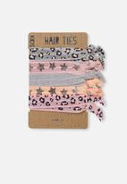 Cotton On - Kids knot messy hairties