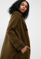 Missguided - Oversized waterfall duster coat