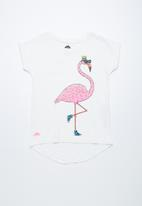 Cotton On - Penelope short sleeve roll up tee - white