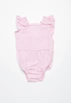 Cotton On - Baby brigitte bow tie playsuit