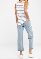 Cotton On - Mid rise straight jeans