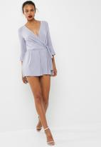 dailyfriday - Bell sleeve playsuit