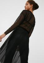 Jacqueline de Yong - Ball sheer dress