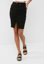 dailyfriday - Denim pencil skirt