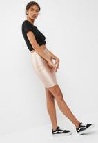 dailyfriday - PU mini skirt