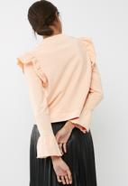 ONLY - Miv ruffle sweat