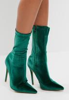 Public Desire - Direct point toe ankle boot