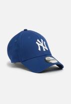 New Era - 9Forty League Basic - blue & white