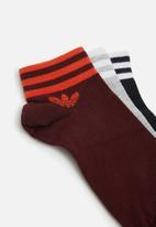 adidas Originals - Ankle stripe socks