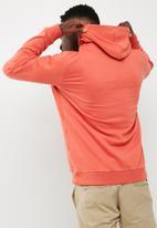 adidas Originals - Mens Over the Head Hood - Scarlet - White