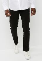 basicthread - Slim fit chino - black