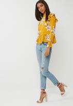 dailyfriday - Chiffon ruffle blouse