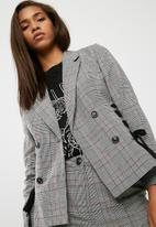 dailyfriday - Lace up detail blazer