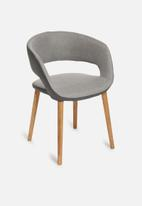 Sixth Floor - Grace dining chair - light grey
