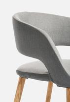Sixth Floor - Grace dining chair - light grey
