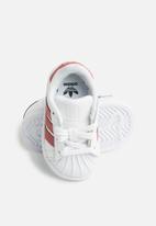 adidas Originals - infants superstar I - white & pink