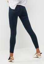 Missguided - Vice high waisted skinny jeans - blue