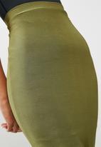 Missguided - Disco slinky skirt